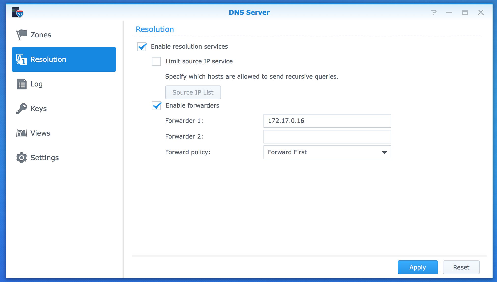 Running Pi-hole on Synology alongside DNS Server