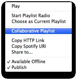 Collaborative Playlist